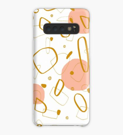 Doodle Pattern 04 #redbubble #doodle #pattern Case/Skin for Samsung Galaxy