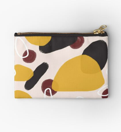 Abstract Fall I #redbubble #abstractart Zipper Pouch