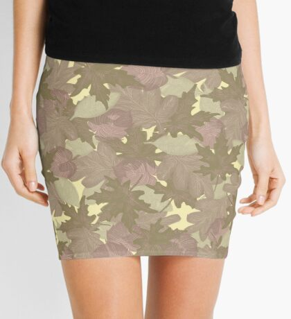 Soft Fall #redbubble #fall Mini Skirt