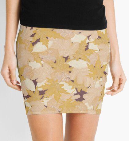 Muted Fall #redbubble #fall Mini Skirt