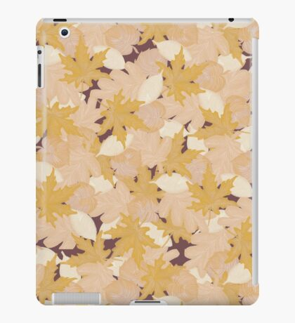 Muted Fall #redbubble #fall iPad Case/Skin
