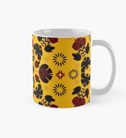 Fiesta Folk Yellow #redbubble #folk Mug