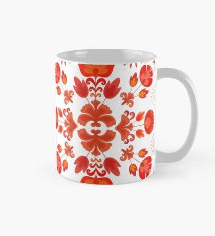 Fiesta Folk Red #redbubble #folk Mug