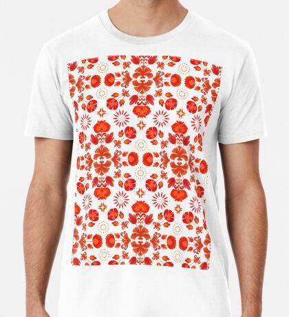 Fiesta Folk Red #redbubble #folk Premium T-Shirt