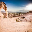 Delicate Arch in Arches National Park by danwa
