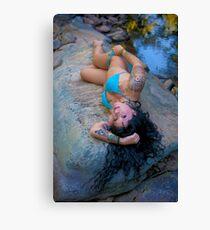Swim Suit Canvas Print