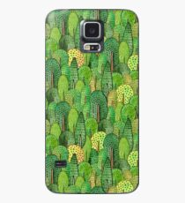 Watercolor forest Case/Skin for Samsung Galaxy