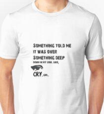 Cry girl -Etta James Unisex T-Shirt