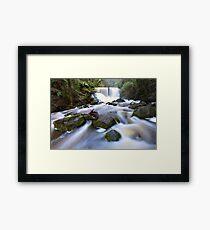 Horseshoe Falls, Tasmania, Australia Framed Print