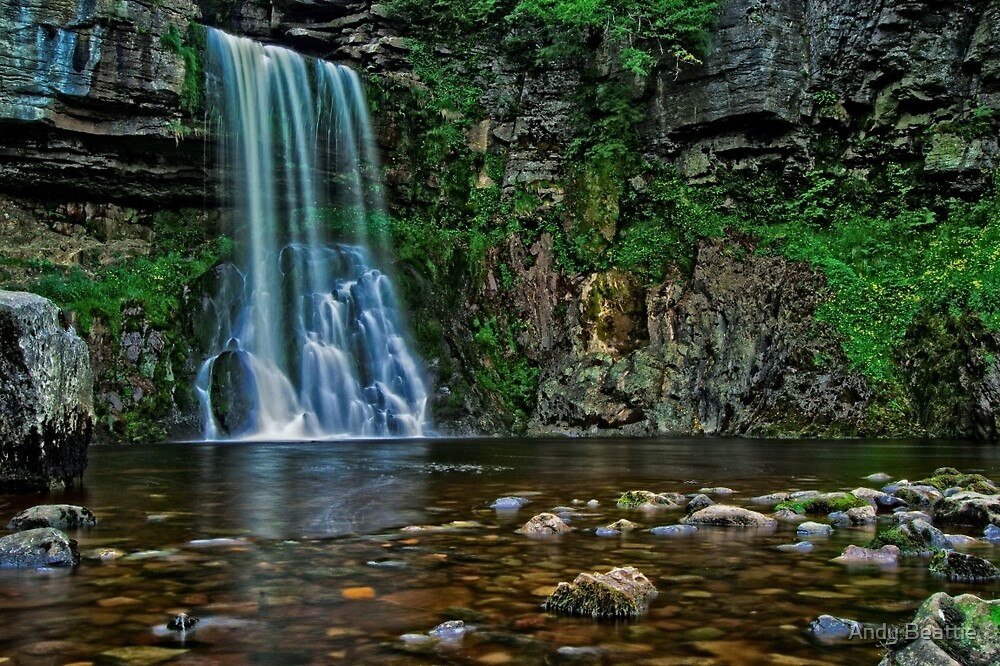 Ingleton Waterfall by Andy Beattie