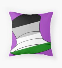 AHiT Androphilia Pride Hat Throw Pillow