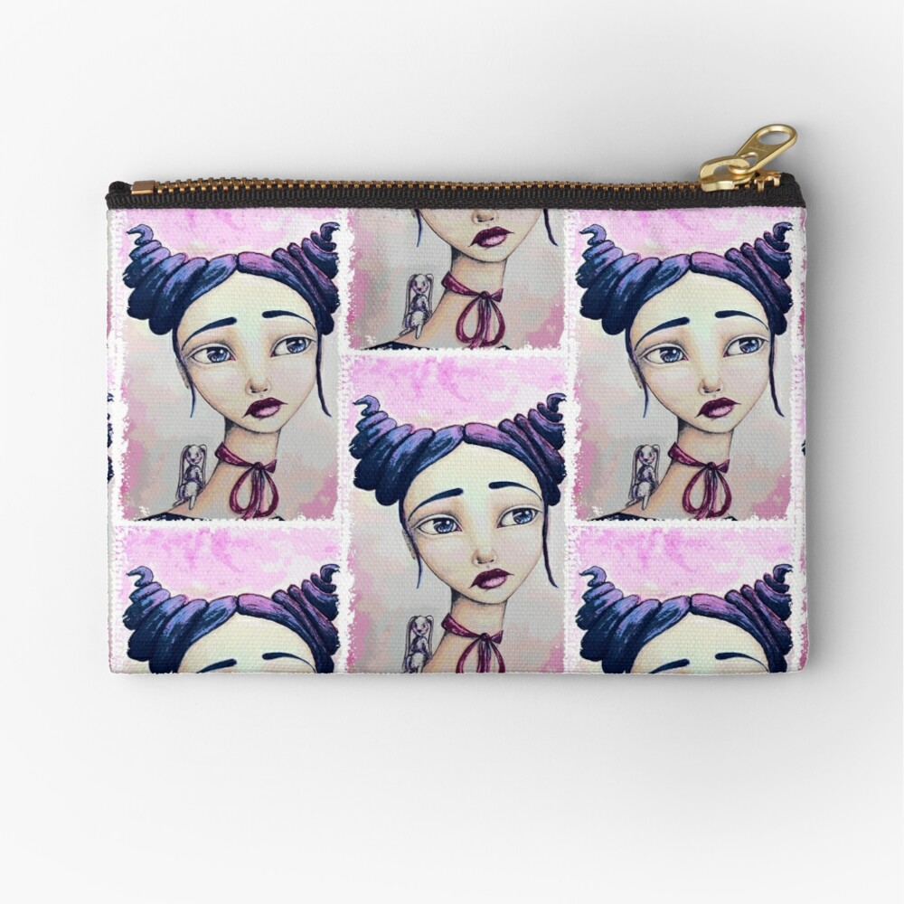 Bunny and Me Zipper Pouch