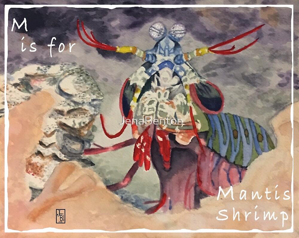 M is for Mantis Shrimp