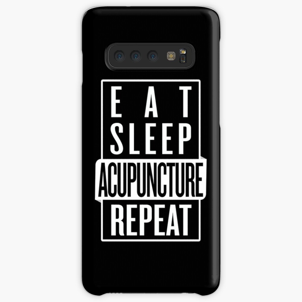 Eat Sleep Acupuncture Repeat Case & Skin for Samsung Galaxy