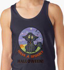 Scaredy Cat - Alternate T-shirt! Tank Top
