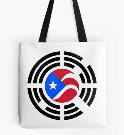 Puerto Rican Korean Multinational Patriot Flag Series Tote Bag