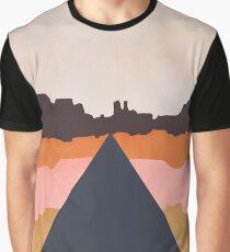Cool Wind Desert Road Graphic T-Shirt