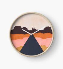 Cool Wind Desert Road Clock