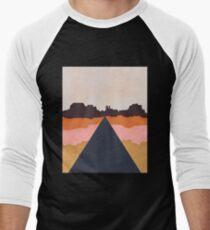 Cool Wind Desert Road Baseball ¾ Sleeve T-Shirt