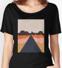 Cool Wind Desert Road Relaxed Fit T-Shirt