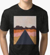 Cool Wind Desert Road Tri-blend T-Shirt