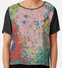 The Geology of the Moon Chiffon Top