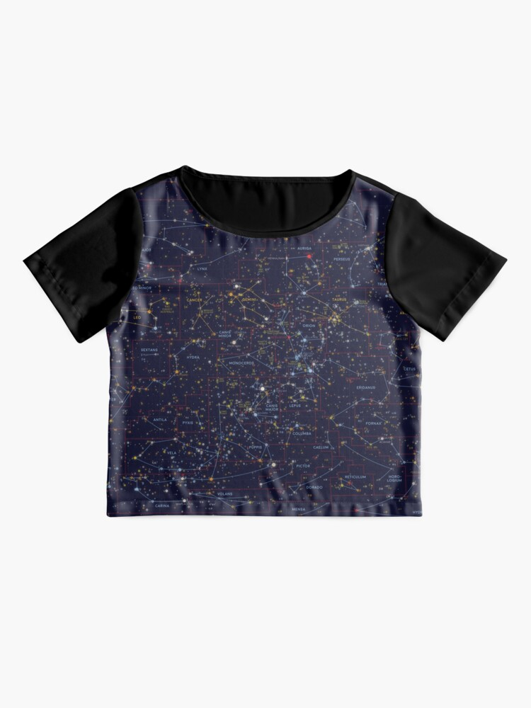 Alternate view of All the stars you can see from Earth Chiffon Top