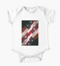 Stars And Stripes One Piece - Short Sleeve