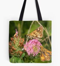 A fiery pair for sure. Tote Bag