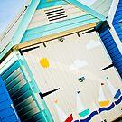 Beach Hut, Mudeford by Sara Hazeldine