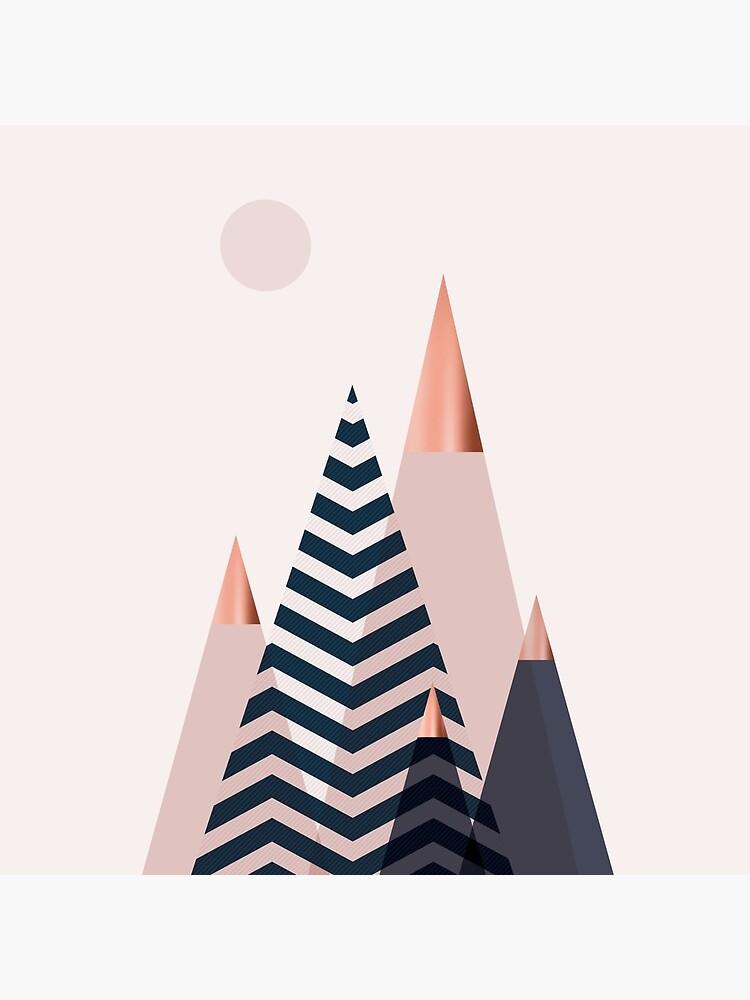 Montañas escandinavas de UrbanEpiphany