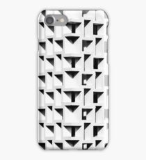 Square architectural details give monochromatic shadows iPhone Case/Skin
