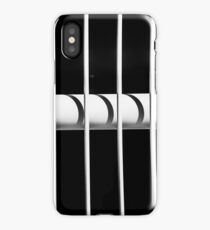 Handrails create an interesting play of light and shadows iPhone Case/Skin