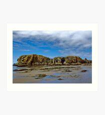 Elephant Rock in Bandon-by-the-Sea, Oregon Art Print