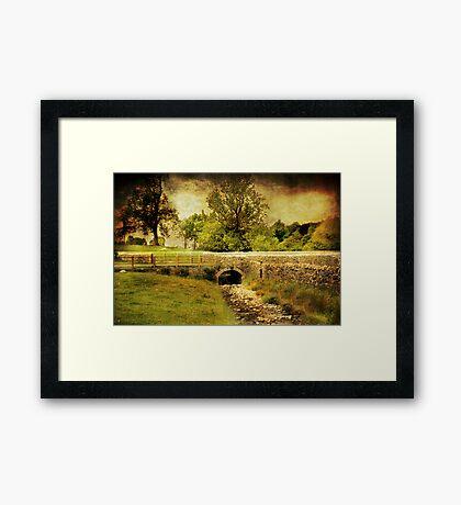 Downham Village Framed Print