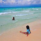 On the beach I by Denis Molodkin