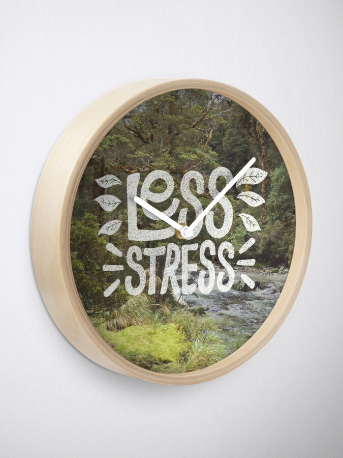 Alternate view of Less Stress Clock