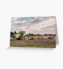 Claas Greeting Card
