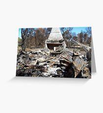 bushfires grampians Greeting Card