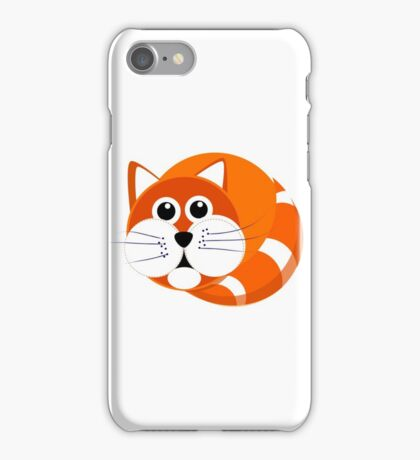 Ginger Cat Puss iPhone Case/Skin
