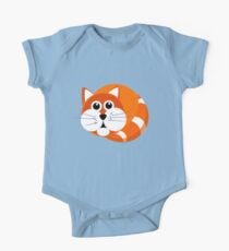 Ginger Cat Puss Kids Clothes