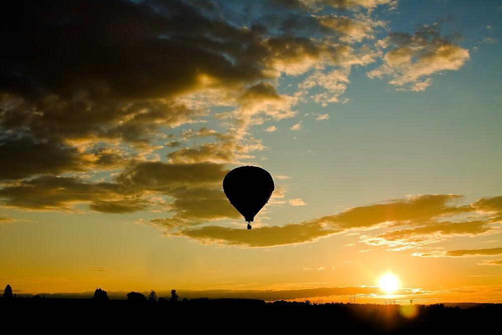 Sunrise Ride by Gary Smith