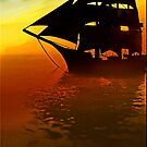 Sails in the Sunset by Kym Howard