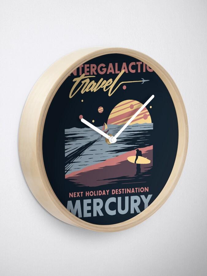 Alternate view of Intergalactic Travel Clock