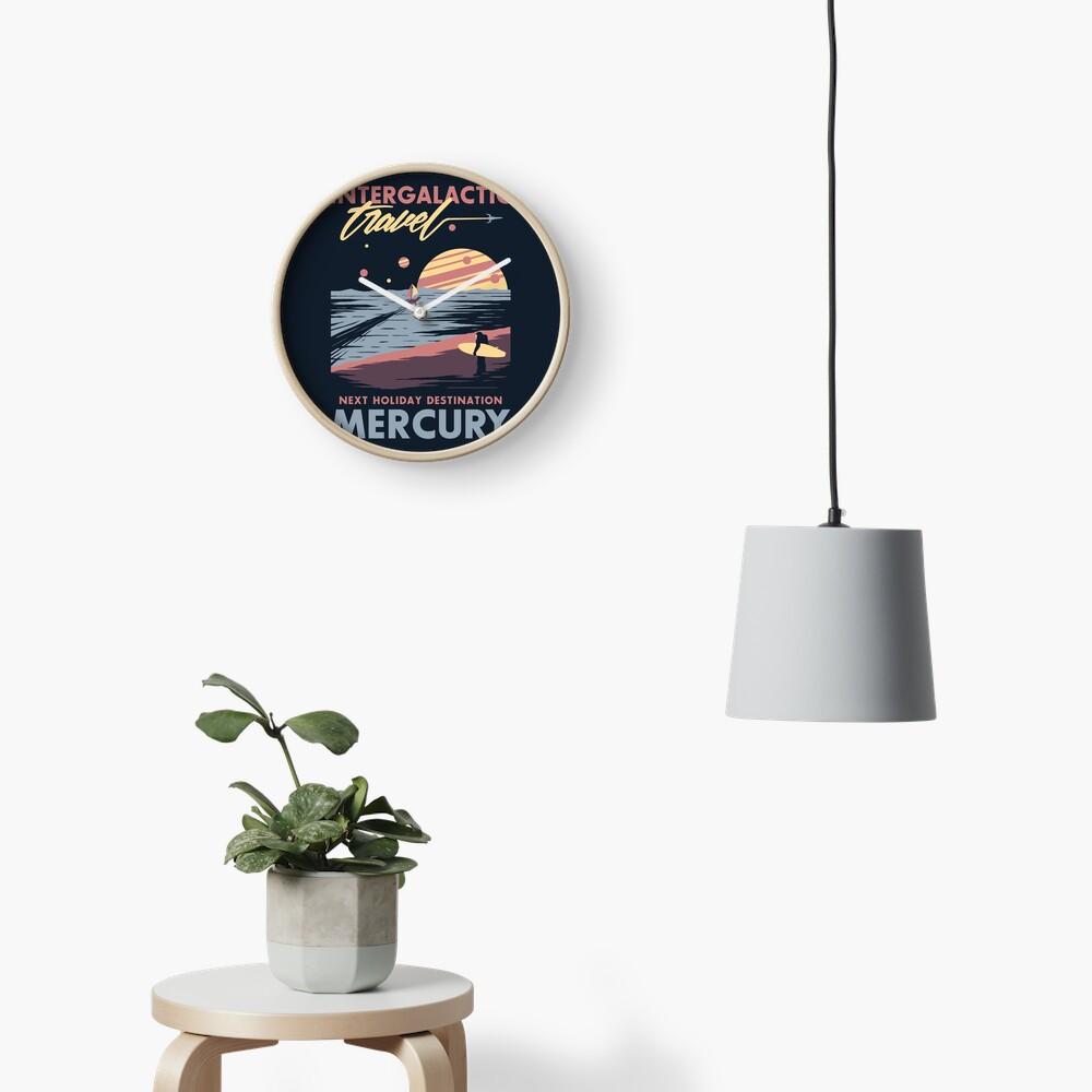 Intergalactic Travel Clock