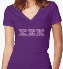Slugma Slugma Kappa (Monsters U) Women's Fitted V-Neck T-Shirt