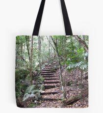 Bush Stairs - Washpool National Park, NSW Tote Bag