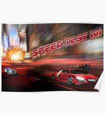speed tests Poster