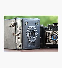 Painting with Light.....vintage cameras  Photographic Print