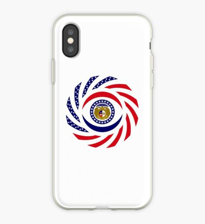 Missouri Murican Patriot Flag Series iPhone Case